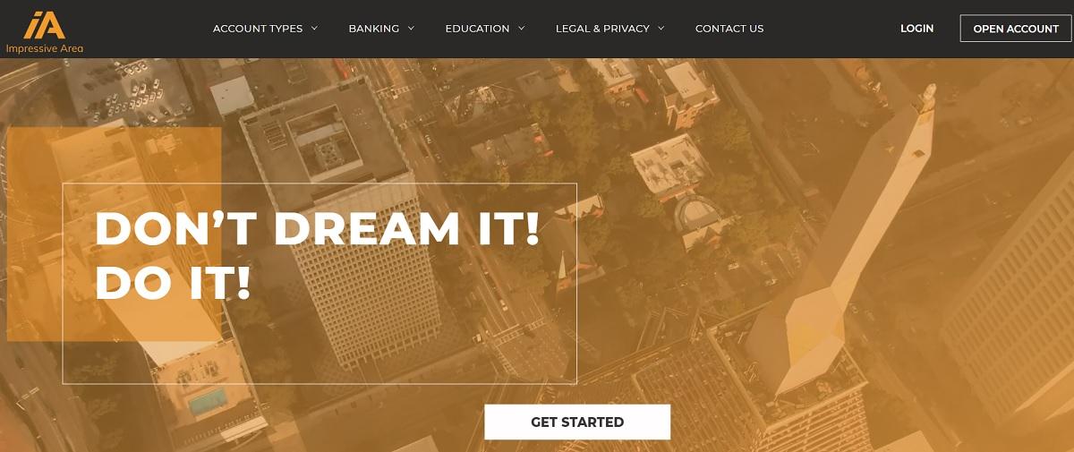 Impressive Area home page